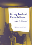 Giving Academic Presentations