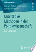 Qualitative Methoden in der Politikwissenschaft