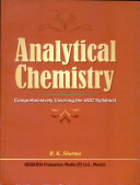 Analytical Chemistry: (Comprehensively Covering the UGC Syllabus)
