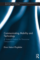 Communicating Mobility and Technology Book