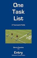 Book One Tast List