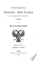 Neues Allgemeines Deutsches Adels Lexicon