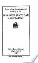 Proceedings of the     Annual Meeting of the Mississippi State Bar Association