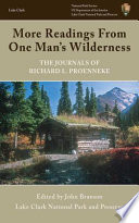 More Readings from One Man s Wilderness