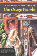 A History of the Osage People Book PDF