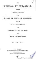 The Missionary Chronicle