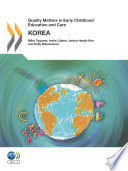 Quality Matters In Early Childhood Education And Care Korea 2012