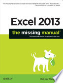 Excel 2013: The Missing Manual PDF