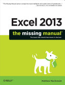 Excel 2013: The Missing Manual Book