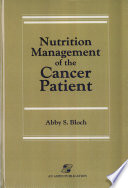 Nutrition Management of the Cancer Patient