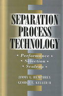 Separation Process Technology