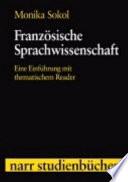 Franz  sische Sprachwissenschaft
