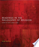 Readings in the Philosophy of Religion   Third Edition