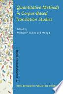 Quantitative Methods in Corpus based Translation Studies