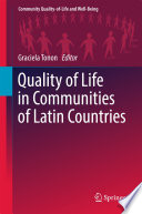 Quality of Life in Communities of Latin Countries Community In Latin Countries As Well