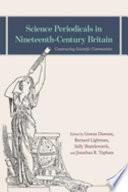 Science Periodicals in Nineteenth Century Britain Book PDF