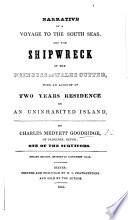 Narrative of a voyage to the South Seas ... Second edition, etc