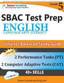 SBAC Test Prep  Grade 5 English Language Arts Literacy  ELA  Common Core Practice Book and Full length Online Assessments