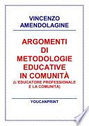 Argomenti di metodologie educative in comunit