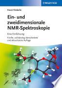 Ein  und zweidimensionale NMR Spektroskopie