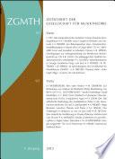 ZGMTH   Zeitschrift der Gesellschaft f  r Musiktheorie  9  Jahrgang 2012
