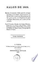 illustration du livre Salon de 1819