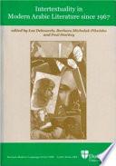 Intertextuality in Modern Arabic Literature Since 1967