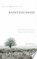 What You Weren't Told about Righteousness Pdf/ePub eBook