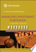Managing Investment Portfolios Workbook