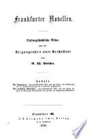 Frankfurter Novellen