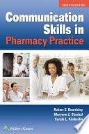 Communication Skills In Pharmacy Practice