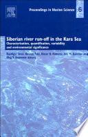 Siberian River Run Off in the Kara Sea