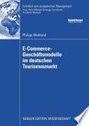 E-Commerce-Geschäftsmodelle im deutschen Tourismusmarkt