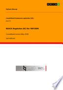 REACH: Regulation (EC) No 1907/2006