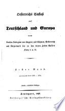 Staatsgeschichte des Kaisertums   sterreich  etc   Vierter Band