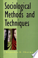 Sociological Methods And Techniques