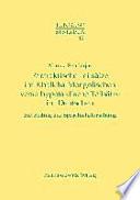 Parataktische Teilsätze im Khalkha-Mongolischen verso hypotaktische Teilsätze im Deutschen