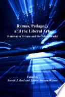 Ramus Pedagogy And The Liberal Arts