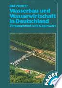Wasserbau und Wasserwirtschaft in Deutschland