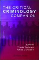The Critical Criminology Companion
