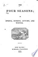 The Four Seasons  Or  Spring  Summer  Autumn  and Winter