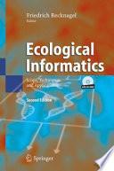 Ecological Informatics