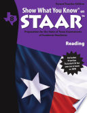 SWYK on STAAR Reading Gr  8  Parent Teacher Edition