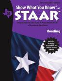 SWYK on STAAR Reading Gr  8  Parent Teacher Edition