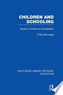 Children and Schooling