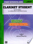 Student Instrumental Course Clarinet Student Level I