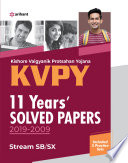 Kvpy 11 Years Solved Papers 2019 2009 Stream Sb Sx