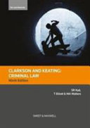 Clarkson and Keating Criminal Law