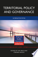 Territorial Policy and Governance