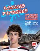 Sciences physiques appliquées aux domaines professionnels